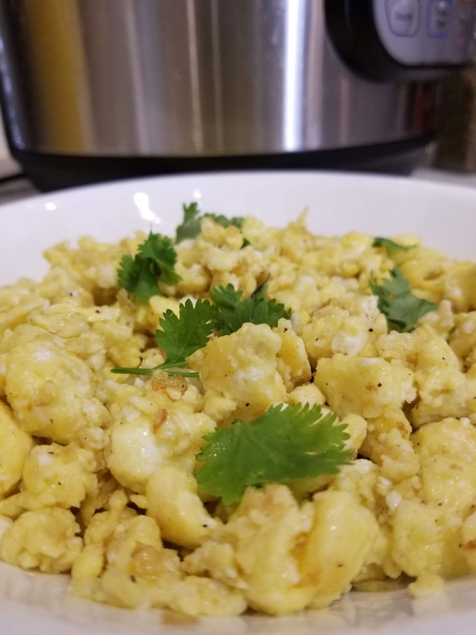 scrambled eggs in instant pot without burning