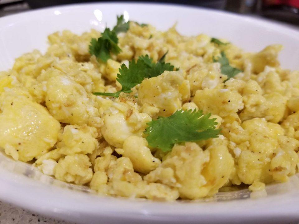 instant pot scrambled eggs