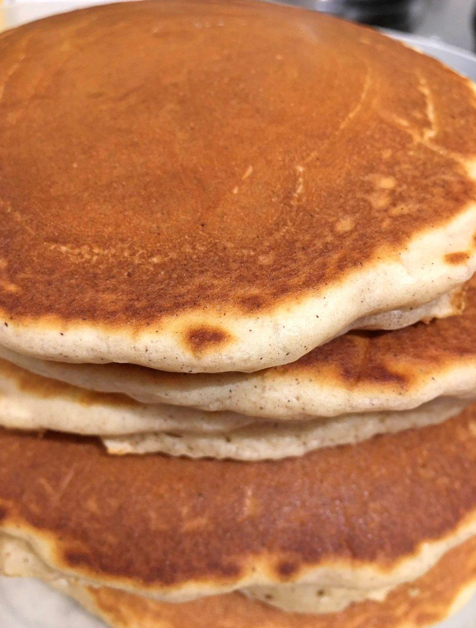 pancakes without pancake mix