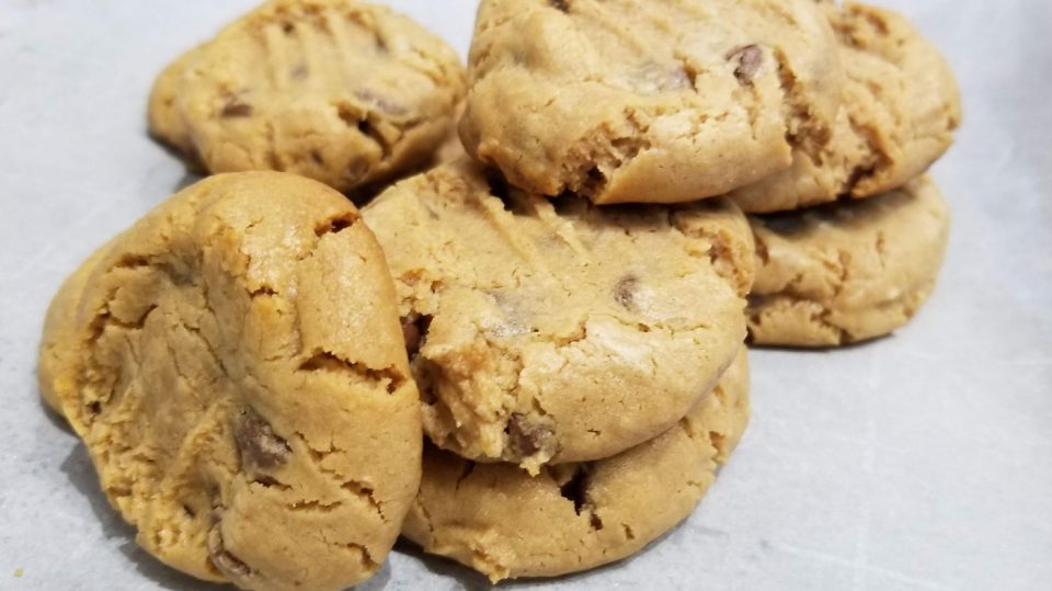 self rising flour peanut butter cookies
