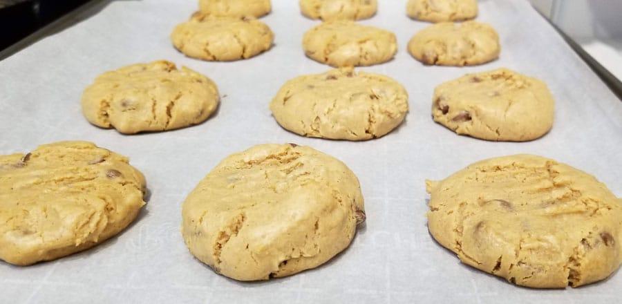 baked self rising flour peanut butter cookies