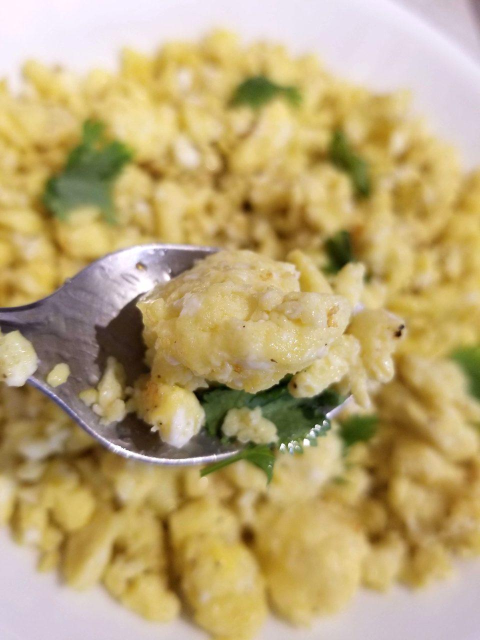 perfect scrambled eggs instant pot