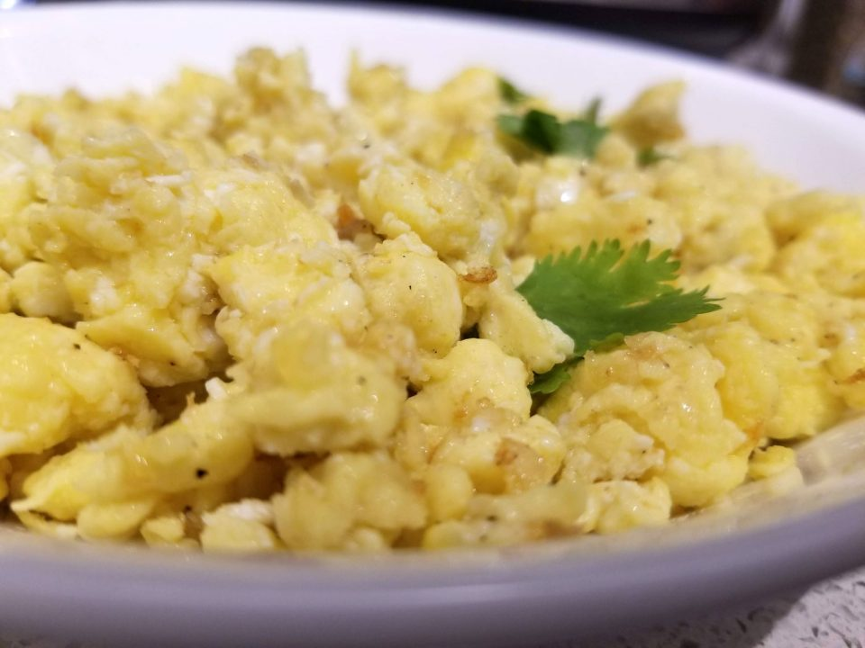 scrambled eggs in instant pot