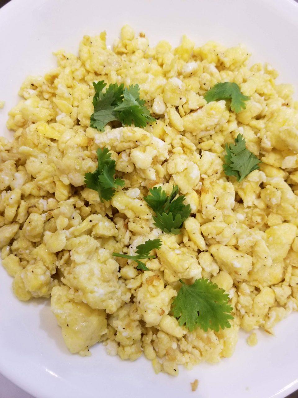 instant pot scrambled eggs perfect