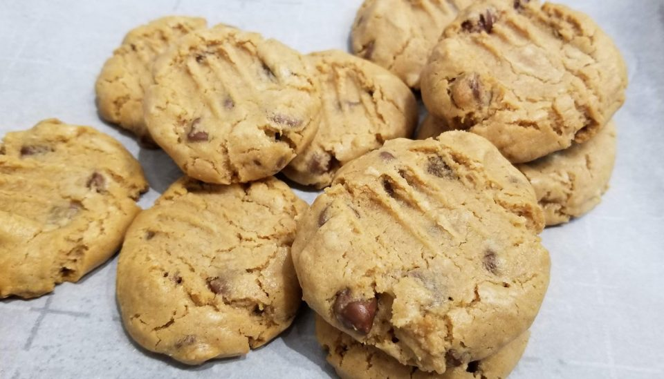 self rising flour peanut butter chocolate chip cookies