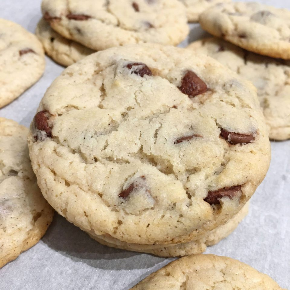self rising flour cookies with chocolate chips