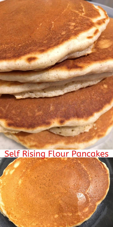 self rising flour pancakes fluffy