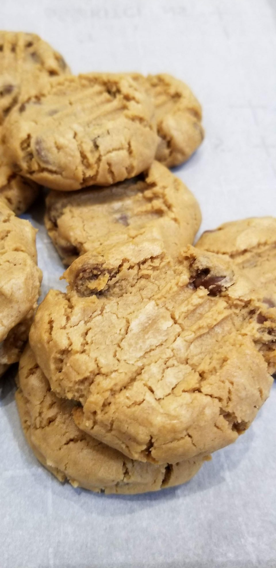 how to make self rising flour peanut butter cookies