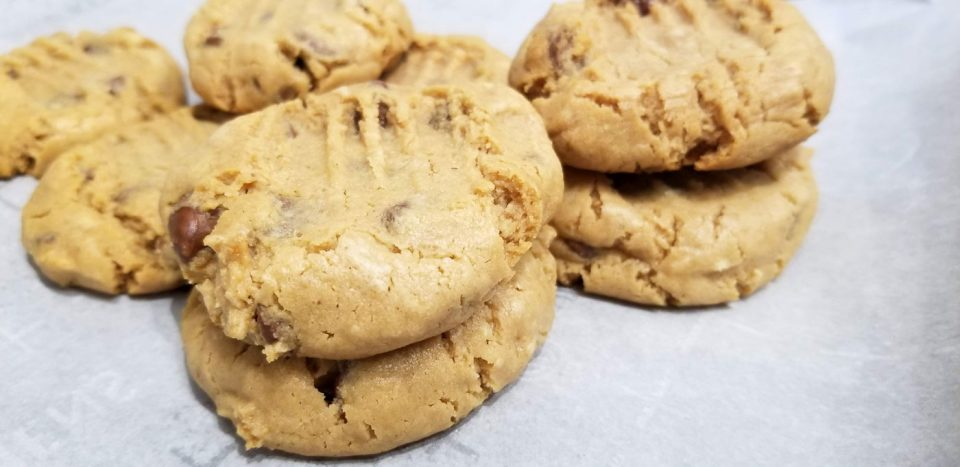 soft and chewy self rising flour peanut butter cookies