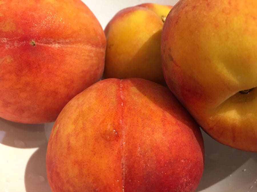 yellow peaches for juice
