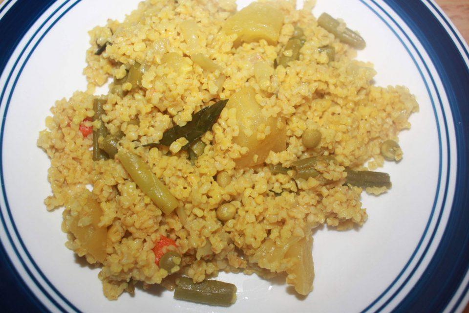 instant pot upma indian recipe
