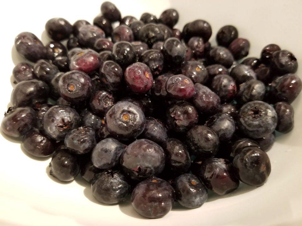 blueberries for milkshake