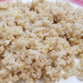brown medium grain sona masoori rice