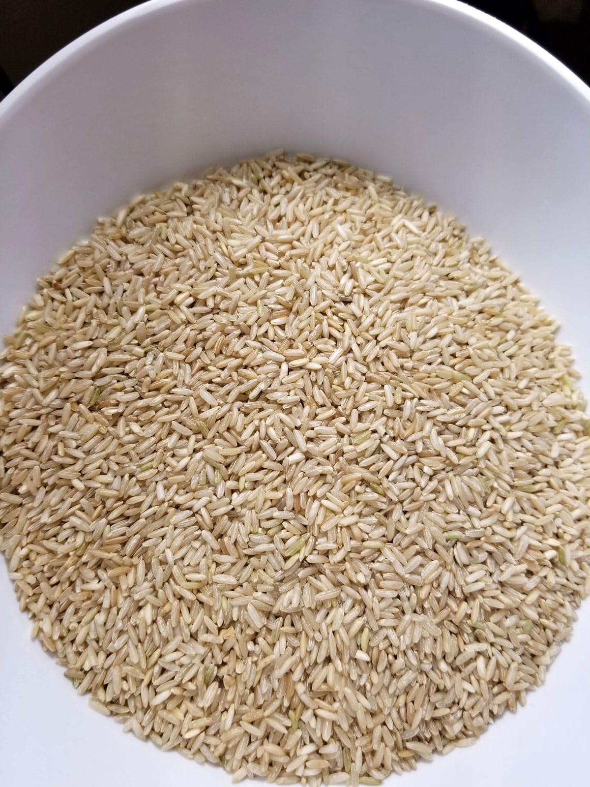 sona masoori rice brown