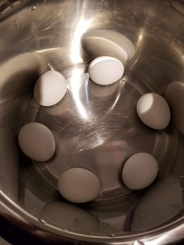 boiled eggs instant pot