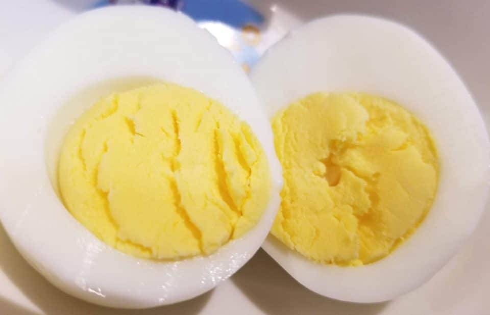 boiled eggs in instant pot