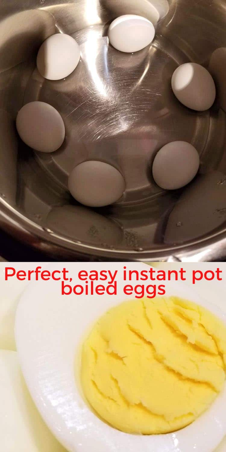 instant pot boiled eggs perfect