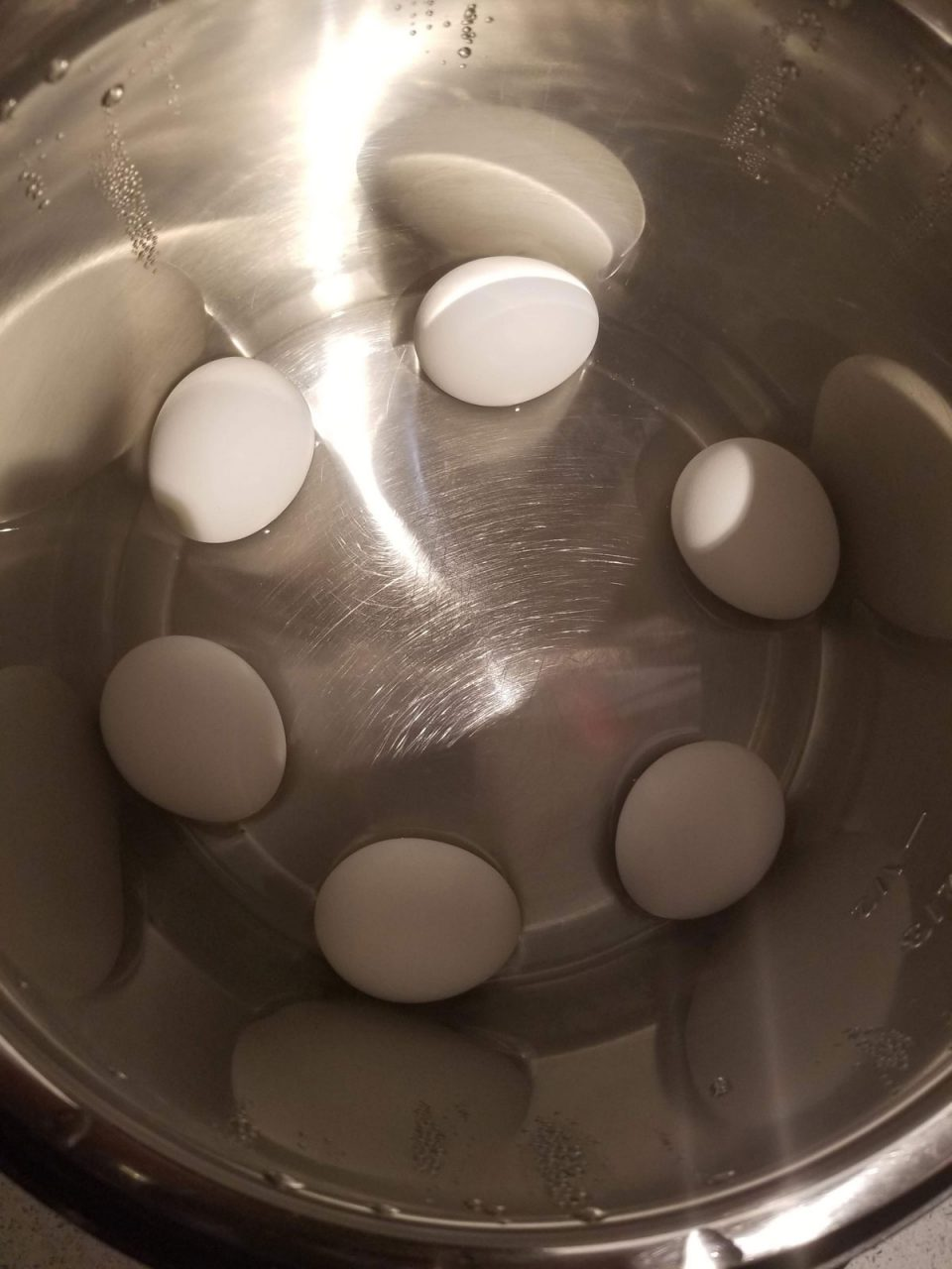 how to boil eggs in instant pot without rack