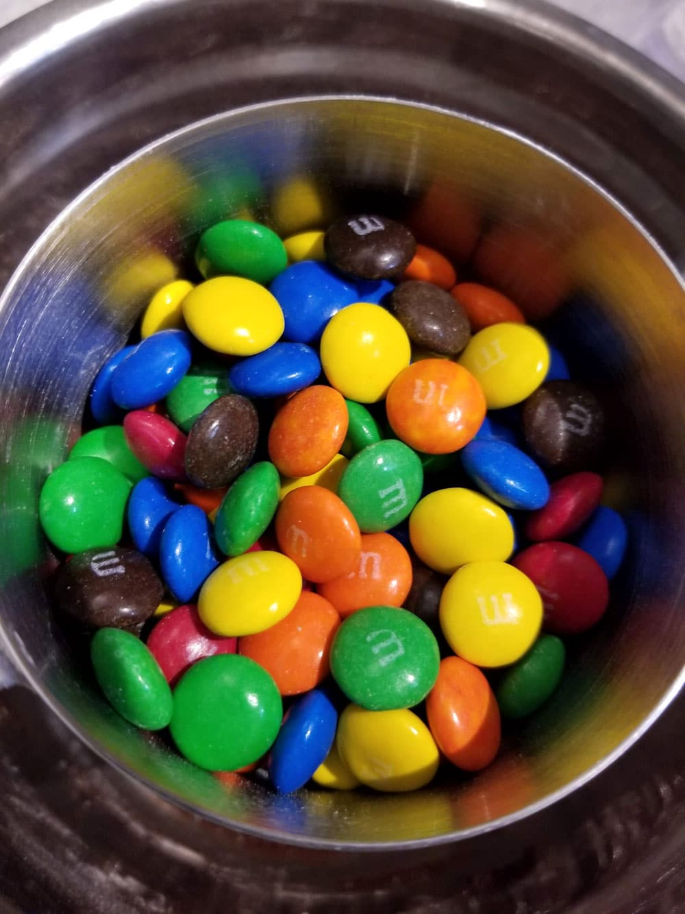 m&m candies for making cookies