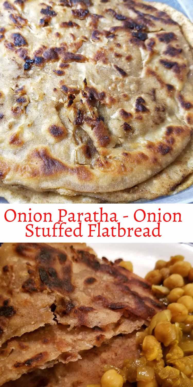 onion stuffed flatbread pyaaz ka paratha