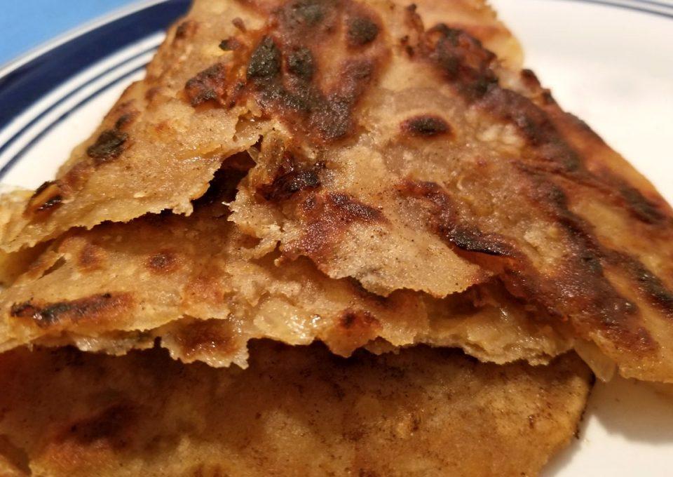 onion paratha pyaaz ka paratha