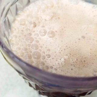 chocolate milkshake with chocolate ice cream