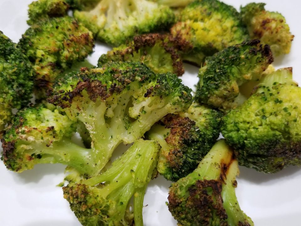 perfect roasted frozen broccoli