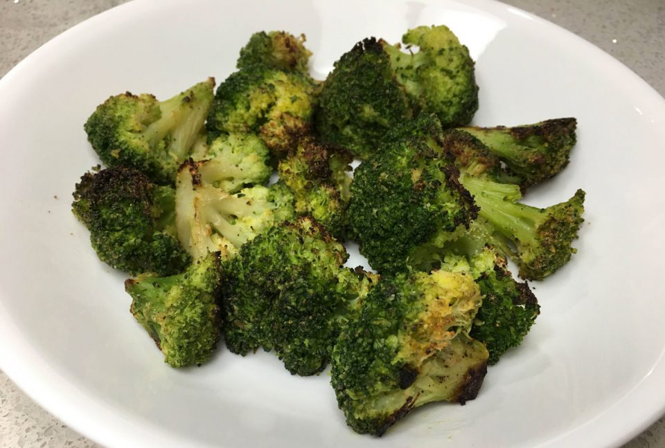 roasted frozen broccoli florets recipe