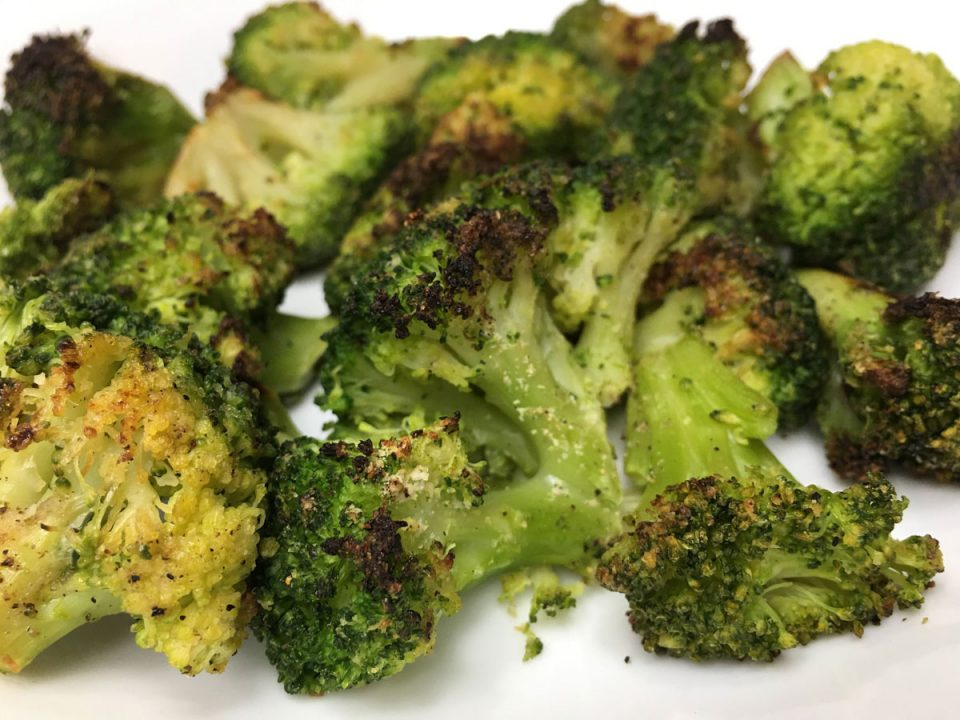roasted frozen broccoli florets