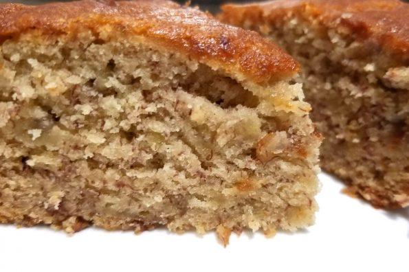 banana yogurt cake without eggs