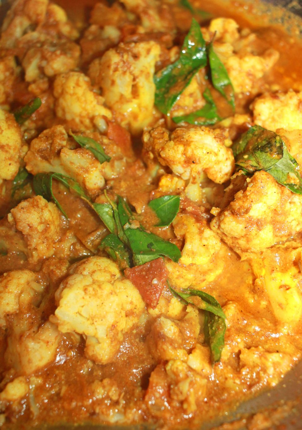 cauliflower curry for chapathi