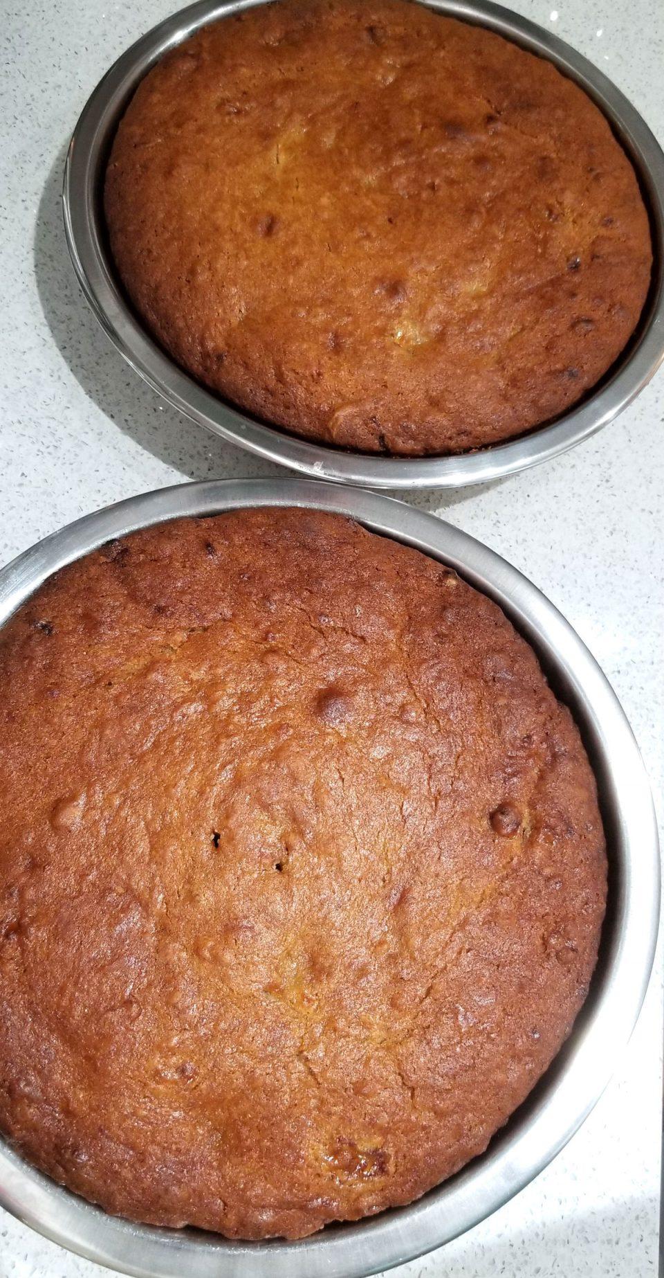 eggless banana cakes