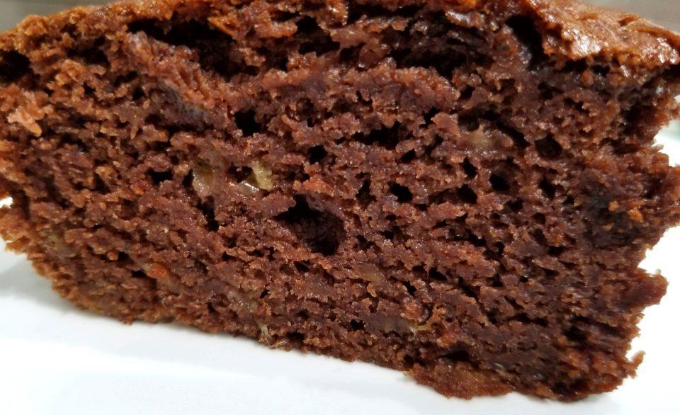 moist chocolate cake eggless