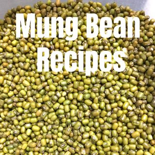 mung bean recipes