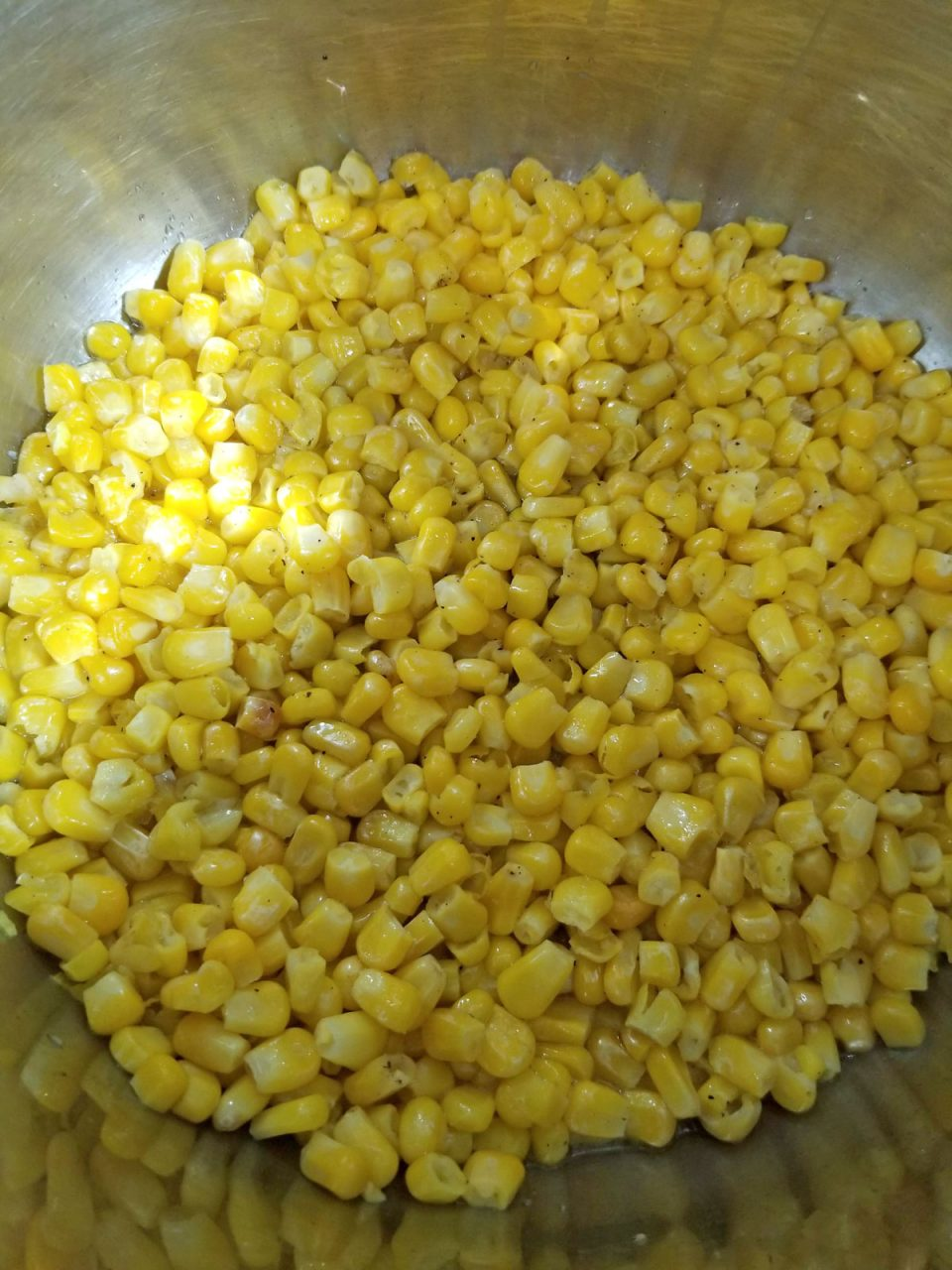 perfect buttered corn in instant pot