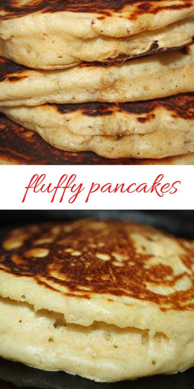 fluffy pancakes homemade