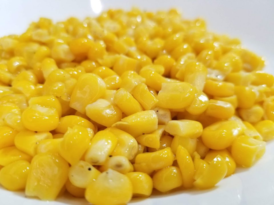 perfect buttered corn