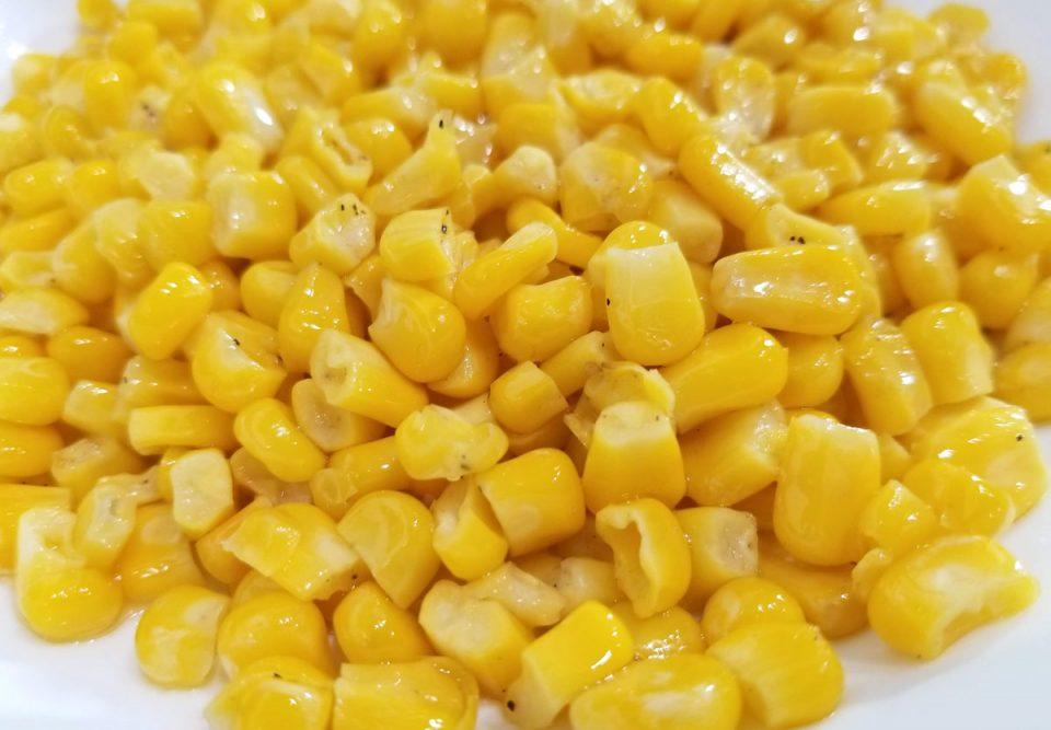 soft buttered corn