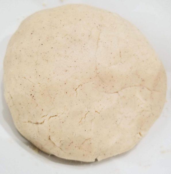 cinnamon vanilla cookie dough to make crinkle cookies