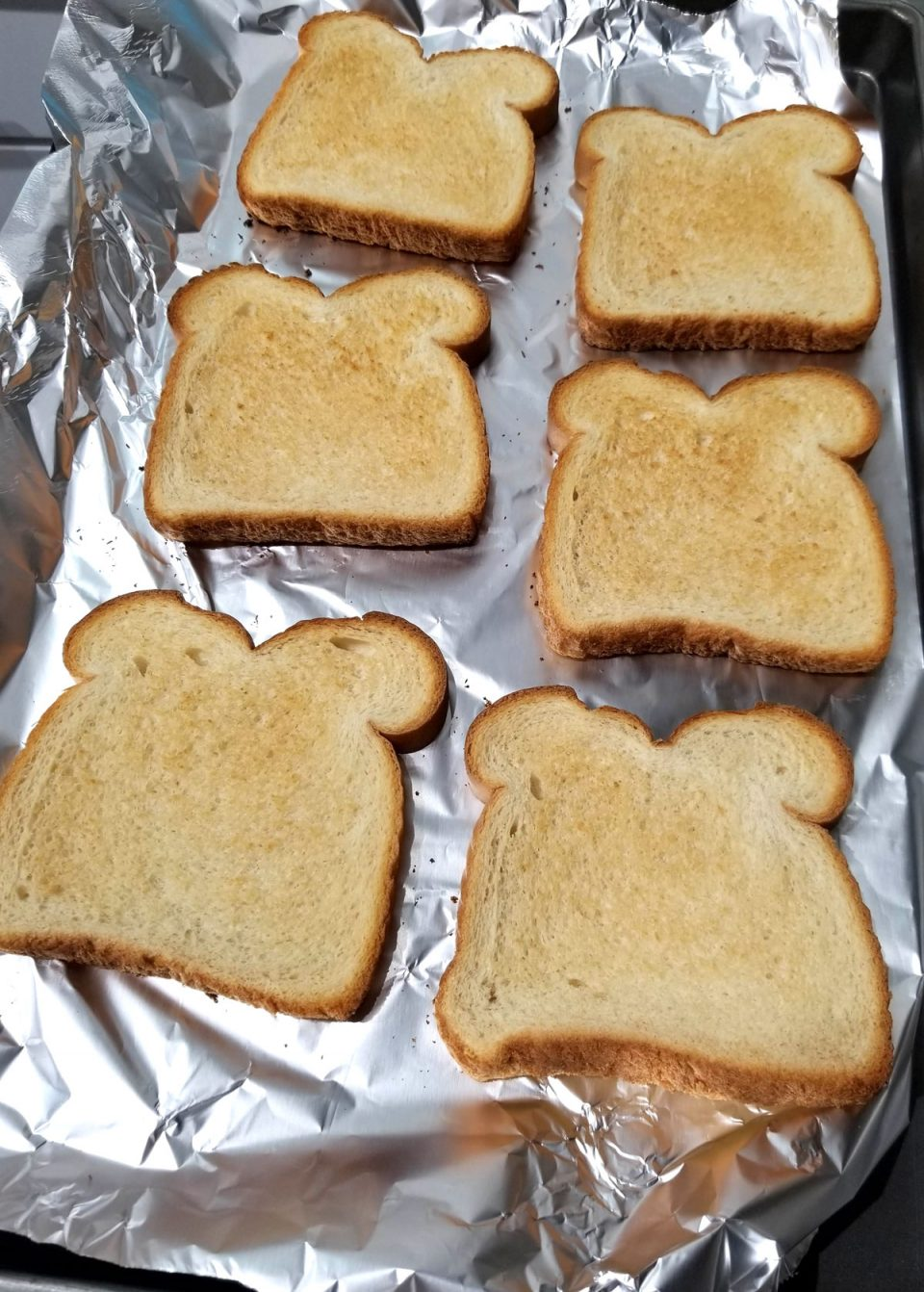 how to toast bread in oven