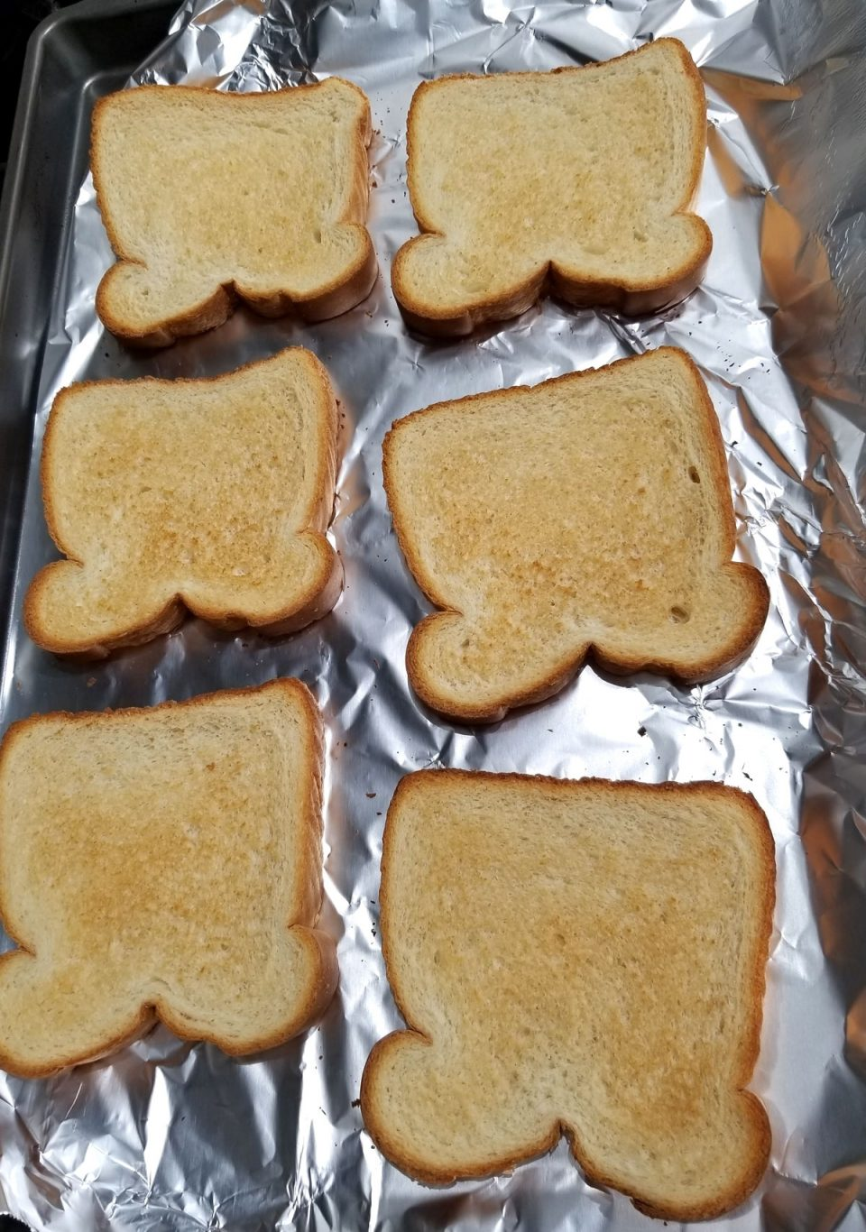 perfect oven toast bread