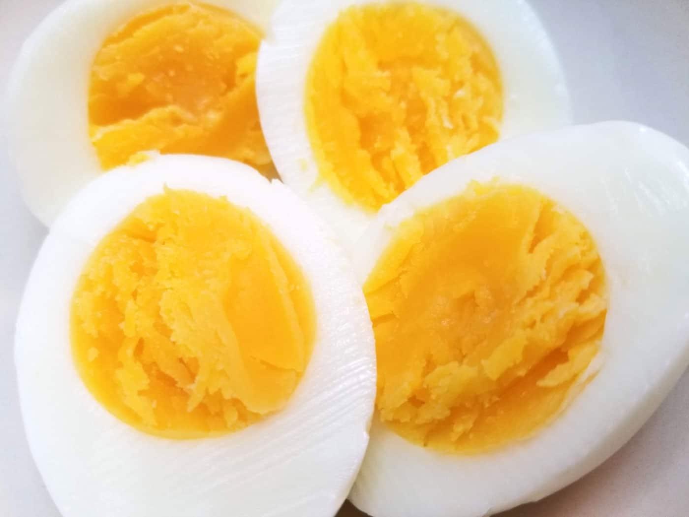 boiled eggs instant pot