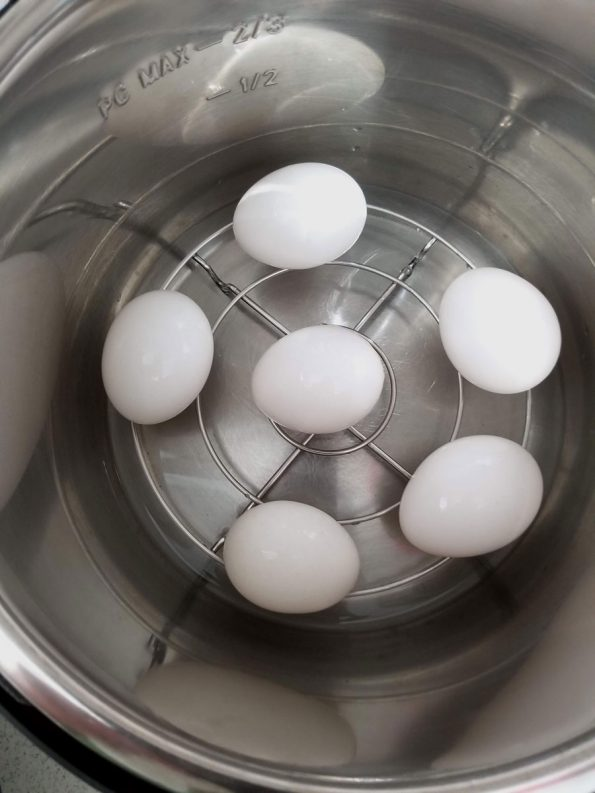 how to steam or boil eggs in instant pot