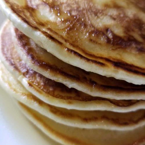 Pancakes Without Baking Powder Or Baking Soda Or Pancake Mix (Video)