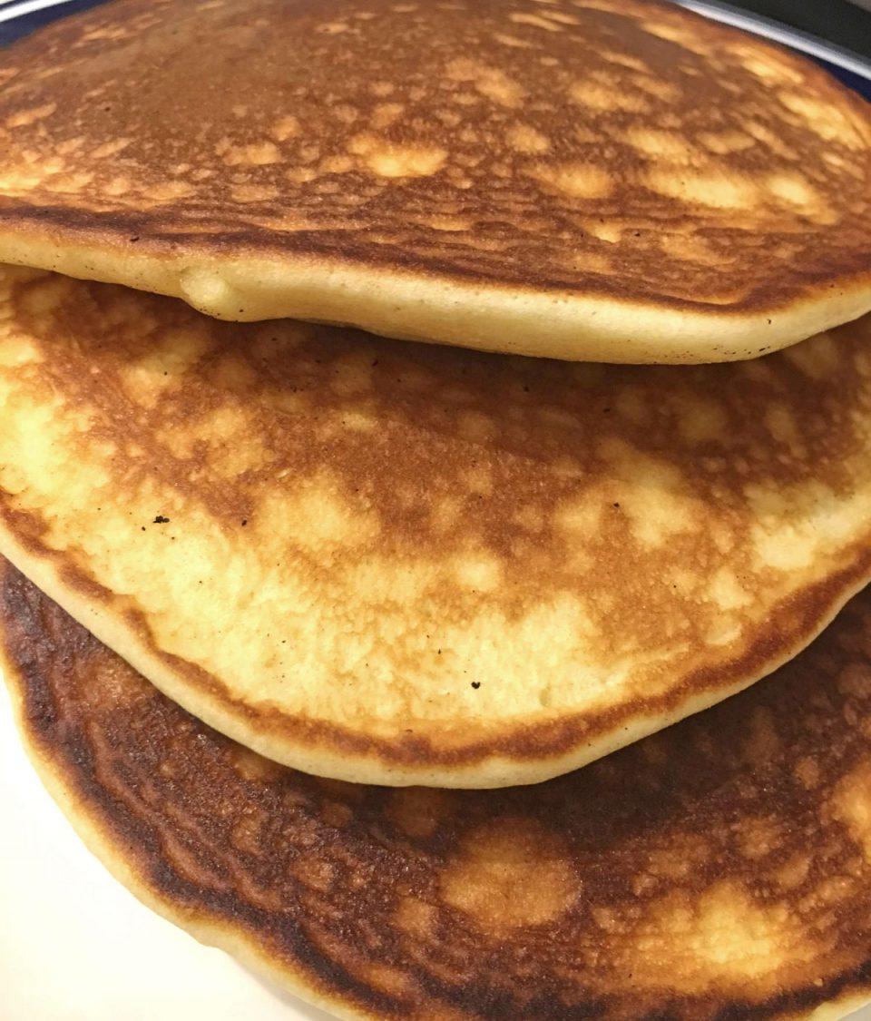 pancakes without baking powder