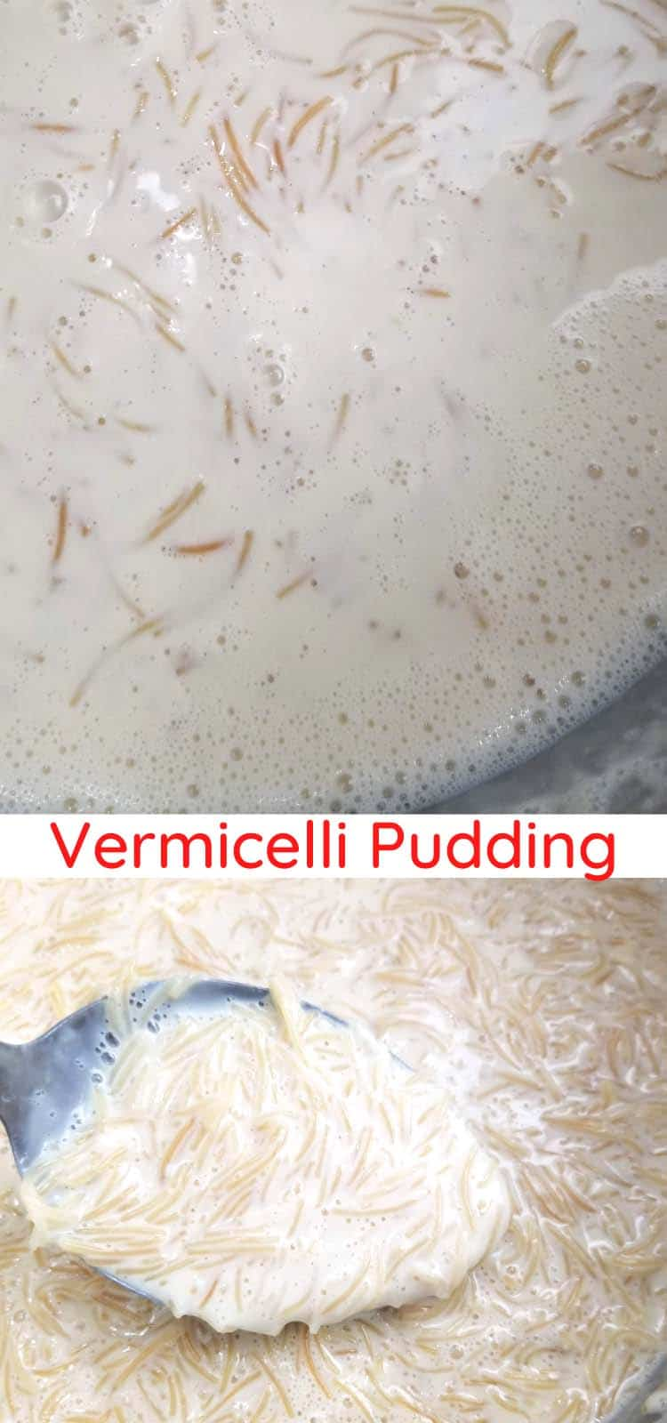 sweet vermicelli pudding