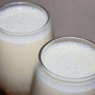 how to make milkshake without ice cream