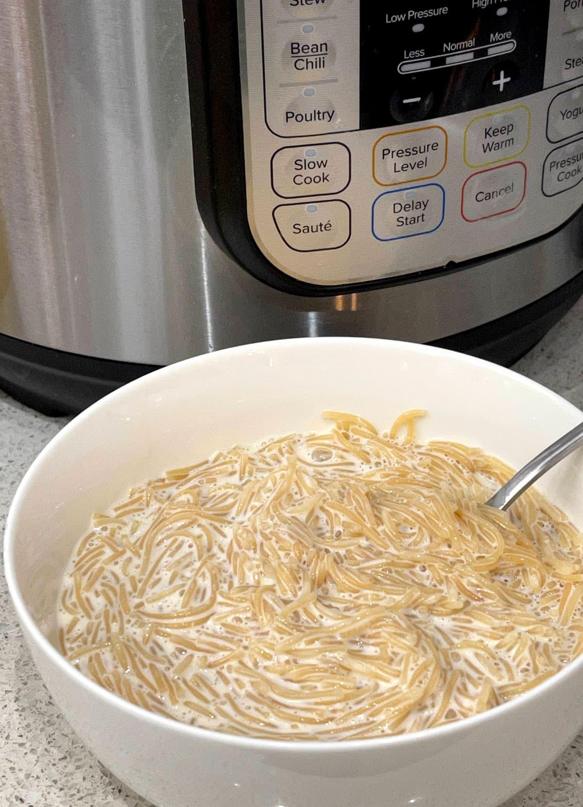 instant pot vermicelli kheer